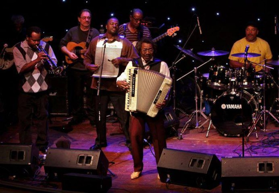 The Buckwheat Zydeco Band
