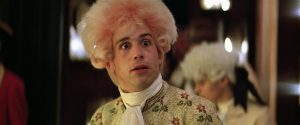 Tom Hulce as Mozart in Amadeus