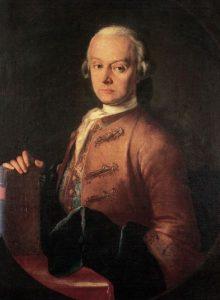 Leopold Mozart by Pietro Antonio Lorenzoni