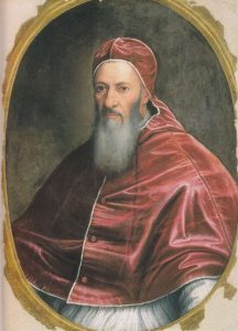 Pope Julius III, pope from 1550-1555