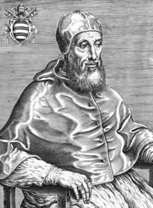 Pope Paul IV, born Gian Pietro Carafa (1476-1559), pope from 1555-1559