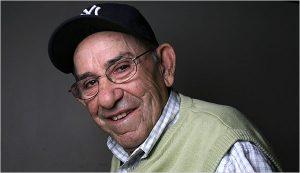 "Lawrence Peter ""Yogi"" Berra (1925-2015) in 2008, age 83"