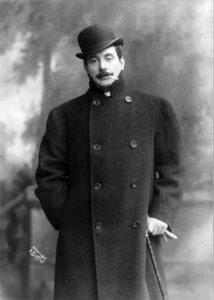 Giacomo Puccini in 1908