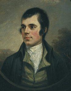 Robert Burns in 1787