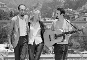 Peter (Yarrow; right), Paul (Stookey; left) & Mary (Travers; center) in 1965