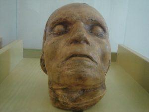 Beethoven's death mask