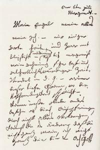 "Beethoven's so-called ""Immortal Beloved"" letter"