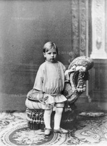 Stravinsky in 1884, age 3