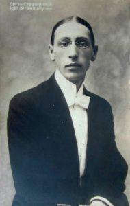 Stravinsky in 1903, age 21