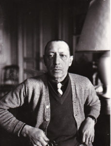 Stravinsky in 1935, age 52