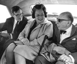 Robert Craft (1923-2015) with Vera and Igor