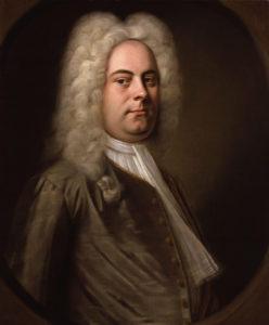 George Frederick Handel circa 1726