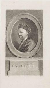Johann Adam Hiller in 1775