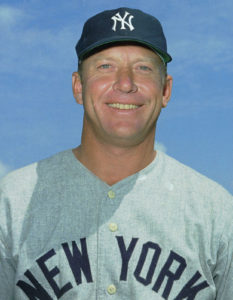 Mickey Charles Mantle in 1966