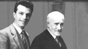 Cantelli and Toscanini, circa 1950