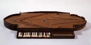 Bartolomeo Cristofori, oval-shaped harpsichord (spinet), 1698
