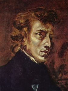 Frédéric Chopin(1810-1849) in 1838, by his friend Eugène Delacroix