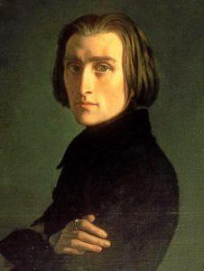 Franz Liszt (1811-1886) in 1839, by Henri Lehmann