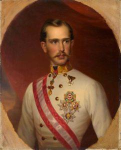 Emperor Franz Josef I circa 1860