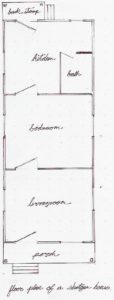 Shotgun House Plan