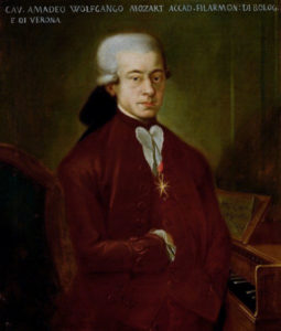 Wolfgang Mozart (1756-1791) in 1777