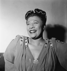 Ella Jane Fitzgerald in 1948