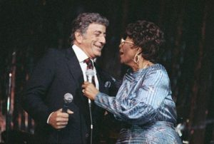 Ella Fitzgerald and Tony Bennett