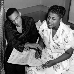 Ella Fitzgerald and Chick Webb, ca. 1938