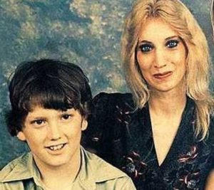 Debbie Mathers-Nelson and her son Marshall Bruce Mathers III