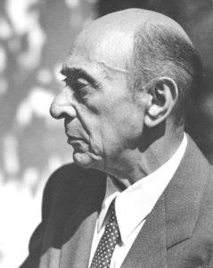 Arnold Schoenberg in 1948