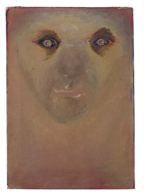 Arnold Schoenberg, The Red Gaze, 1910
