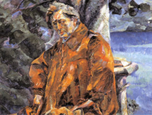 Portrait of Busoni by Umberto Boccioni, 1916