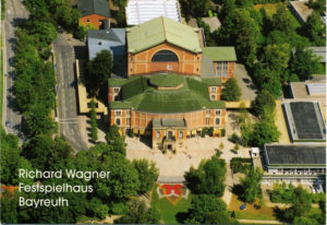 """Richard Wagner's """"Festival Theater"""" in Bayreuth"""