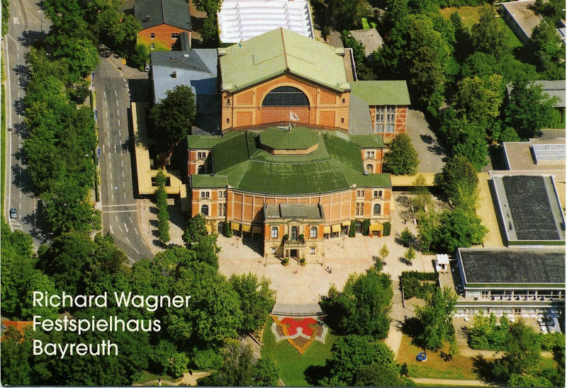 "Richard Wagner's ""Festival Theater"" in Bayreuth"