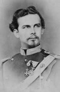 Ludwig Otto Friedrich Wilhelm II, King of Bavaria (1845-1886), circa 1874