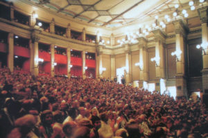 Wagner Festival Theater, interior