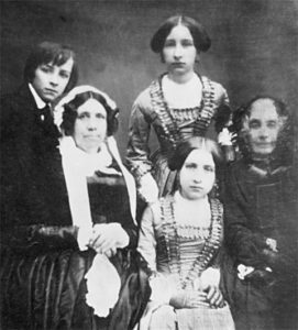 Liszt's children and their keepers in 1848