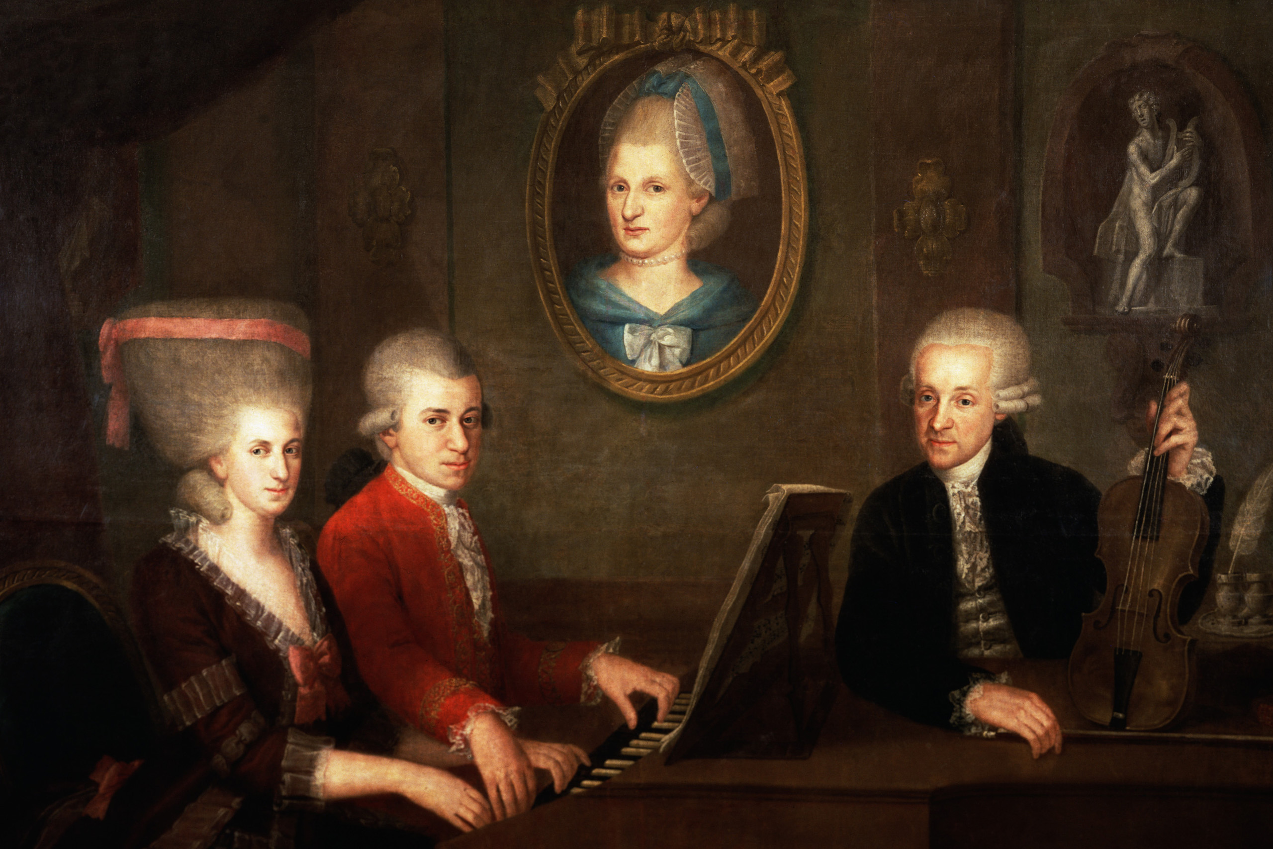 The Mozart Family in 1780