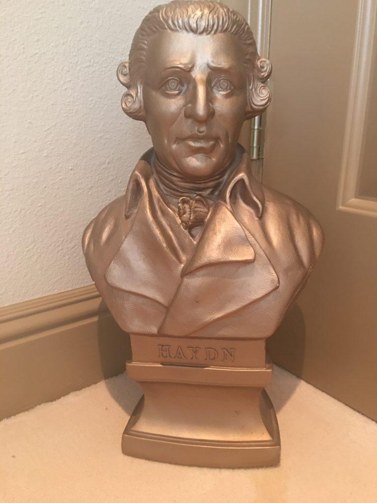 Haydn bust