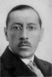 Stravinsky in 1921