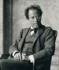 Gustav Mahler (1860-1911) in 1907