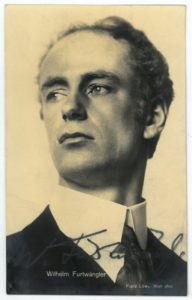 Wilhelm Furtwängler in 1912