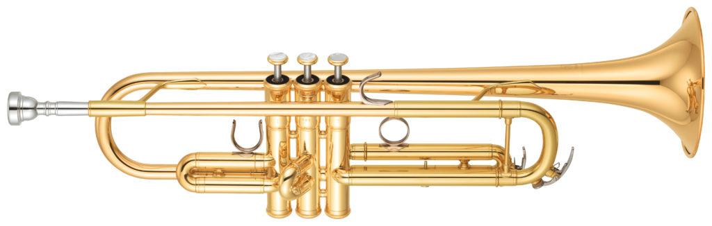 Standard Bb trumpet