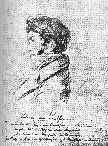 Ludwig van Beethoven in 1808