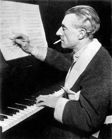 Joseph Maurice Ravel ca. 1920