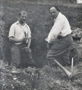 Roger Sessions and Ernest Bloch ca. 1930