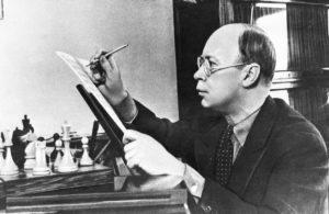Sergei Sergeyevich Prokofiev circa 1940