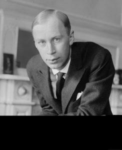 Prokofiev in New York, 1918