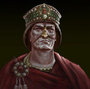 Byzantine Emperor Justinian II