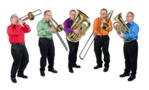The Low Brass (as played by the same dude in four different shirts!)
